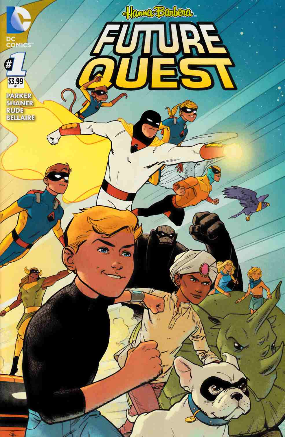 Future Quest #1 [DC Comic] THUMBNAIL