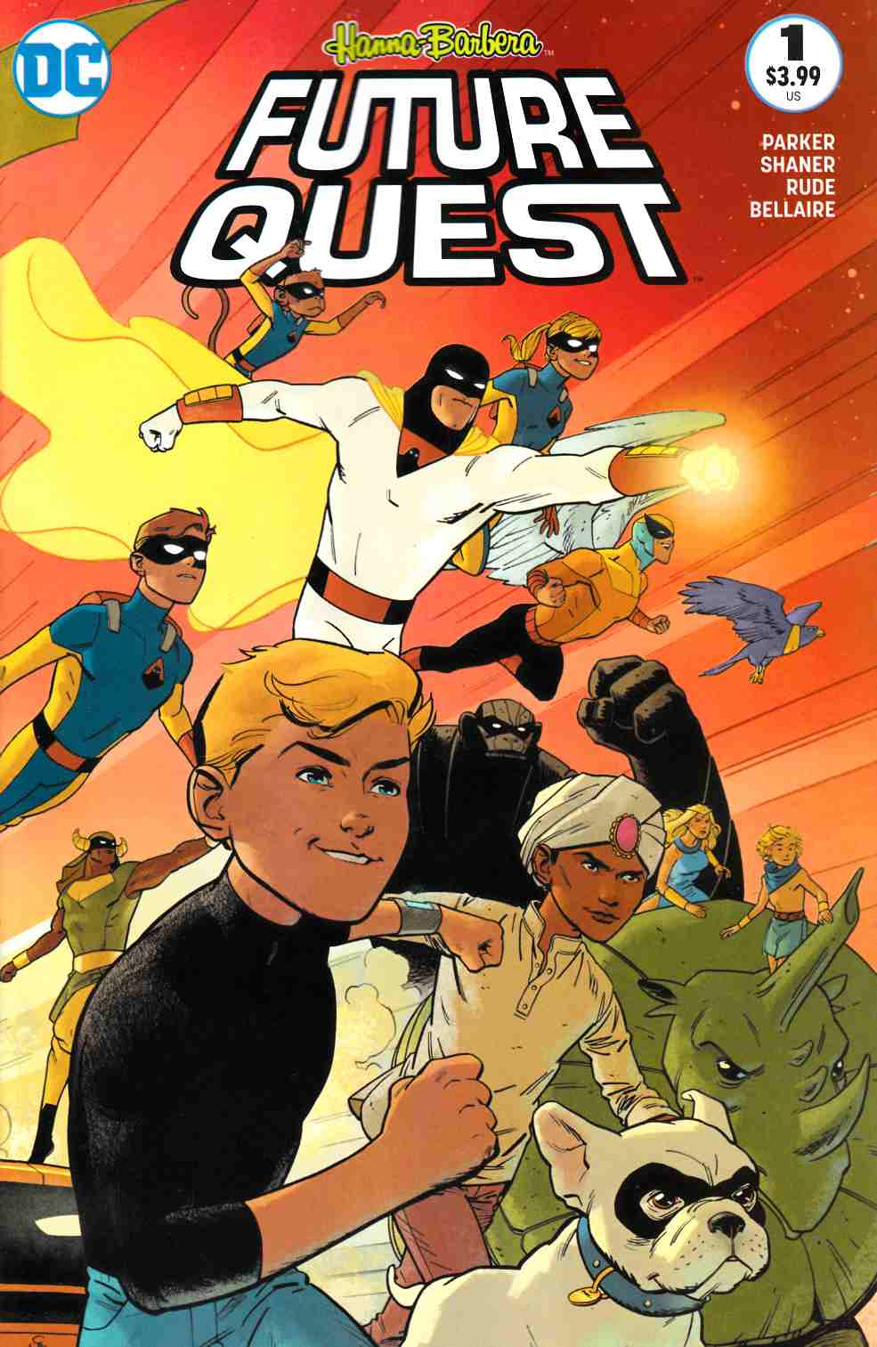 Future Quest #1 Second Printing [DC Comic] THUMBNAIL
