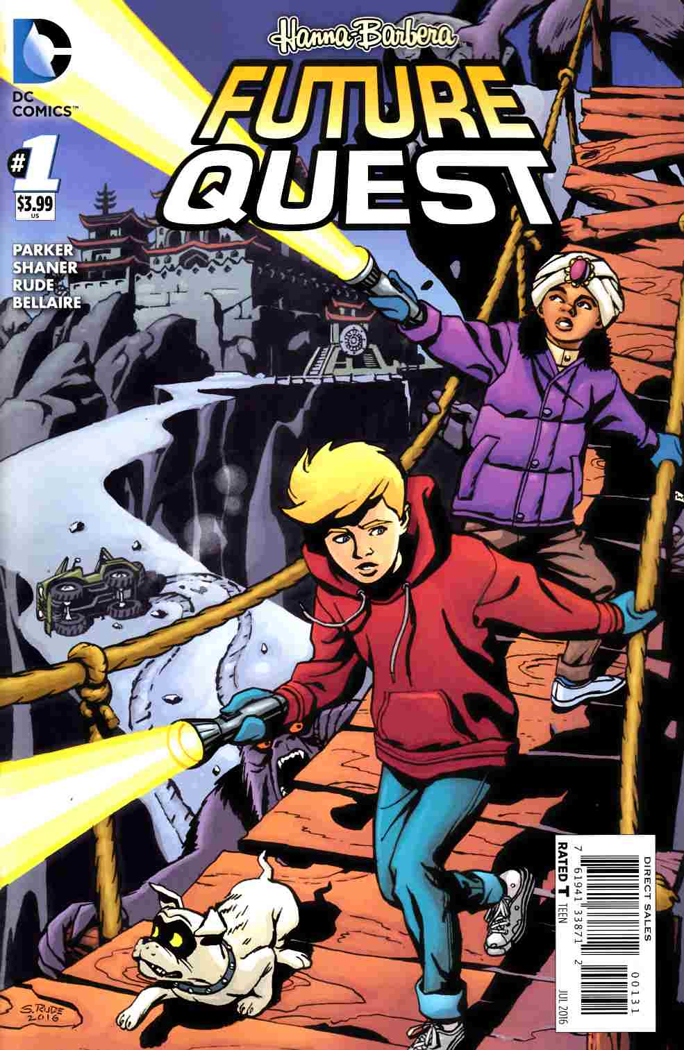 Future Quest #1 Jonny Quest Variant Cover [DC Comic] LARGE