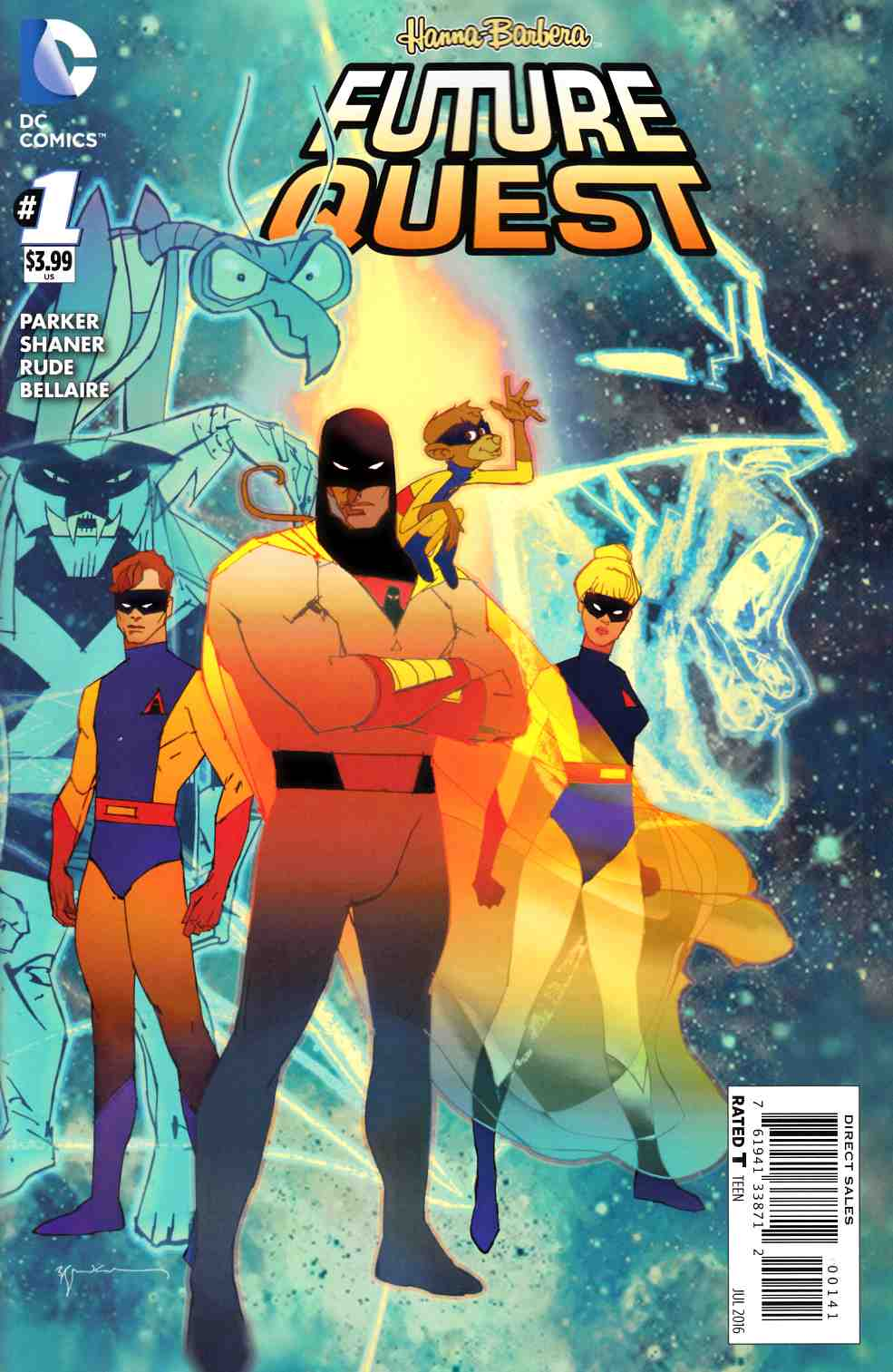 Future Quest #1 Space Ghost Variant Cover [DC Comic] THUMBNAIL