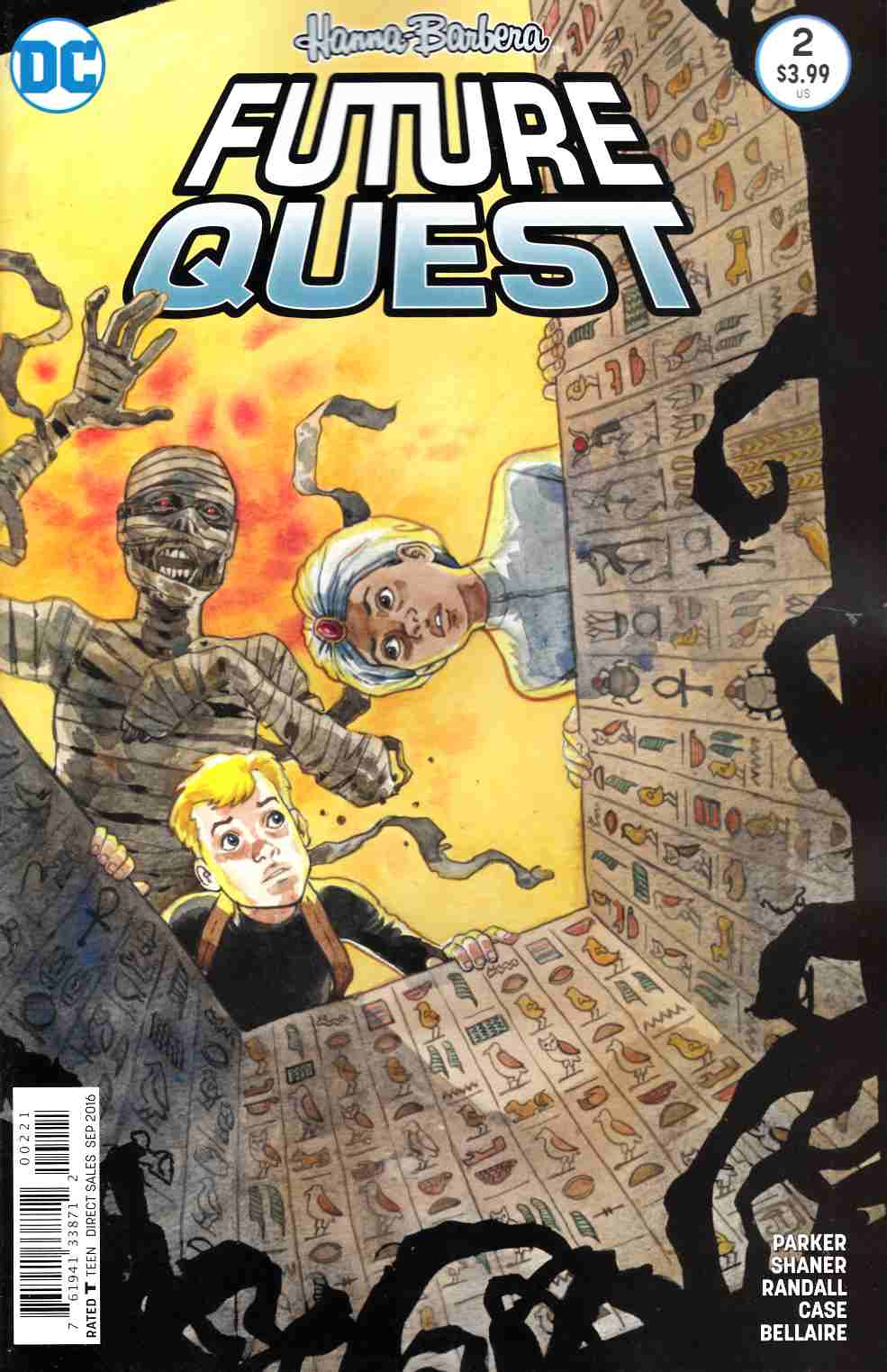 Future Quest #2 Thompson Variant Cover [DC Comic] THUMBNAIL