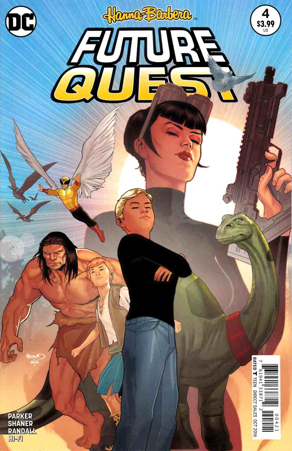 Future Quest #4 Renaud Variant Cover [DC Comic] THUMBNAIL