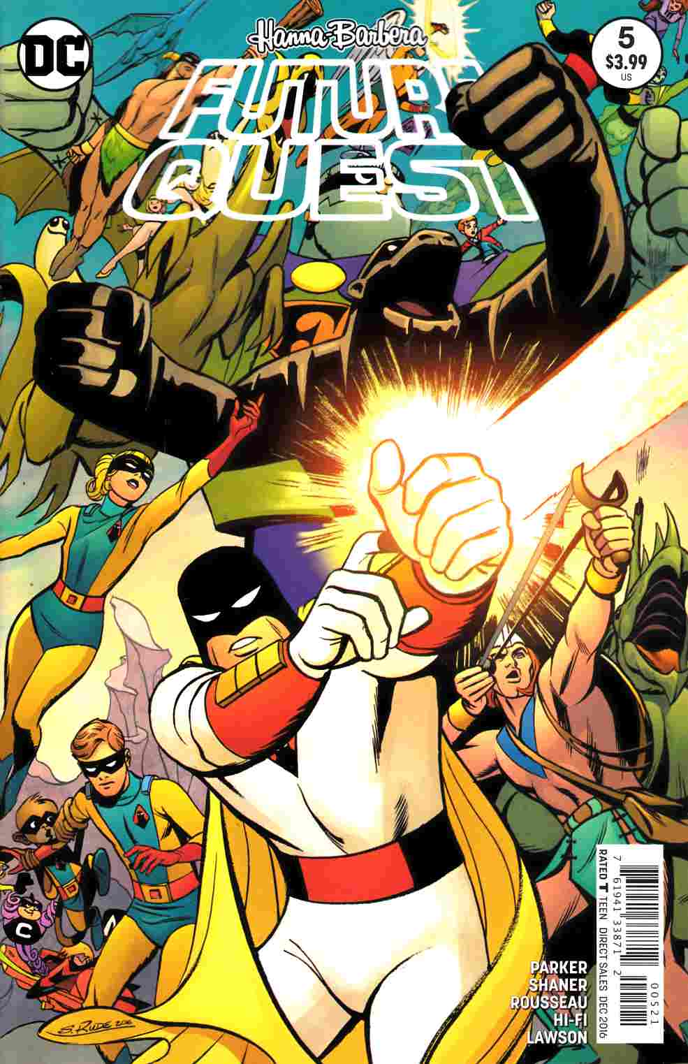 Future Quest #5 Rude Variant Cover [DC Comic] THUMBNAIL