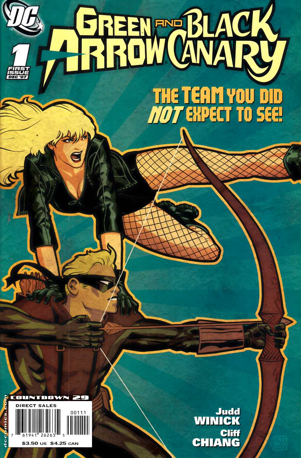 Green Arrow Black Canary #1 Near Mint (9.4) [DC Comic] THUMBNAIL