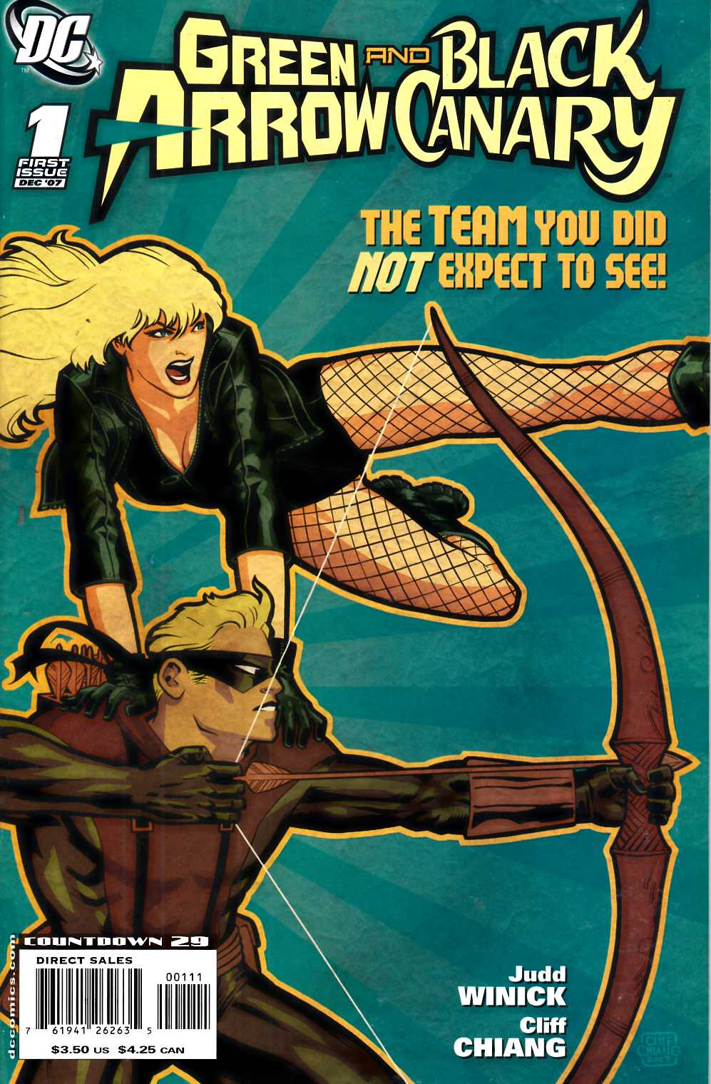 Green Arrow Black Canary #1 Very Fine (8.0) [DC Comic] THUMBNAIL
