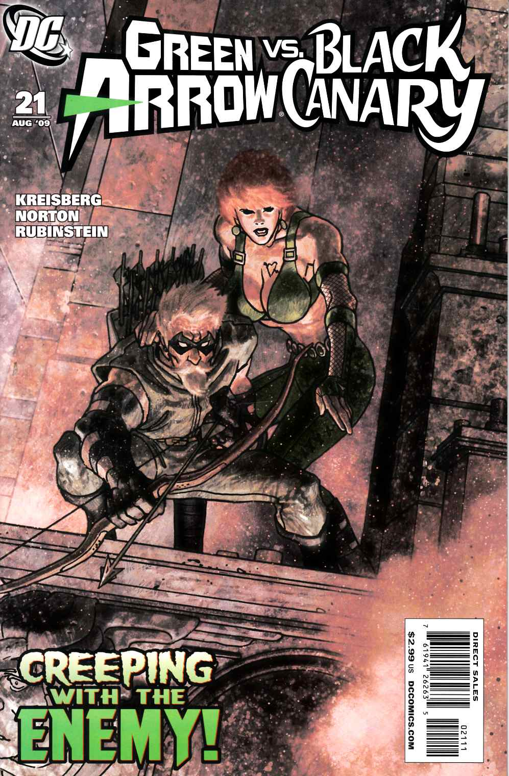 Green Arrow Black Canary #21 Very Fine (8.0) [DC Comic] THUMBNAIL