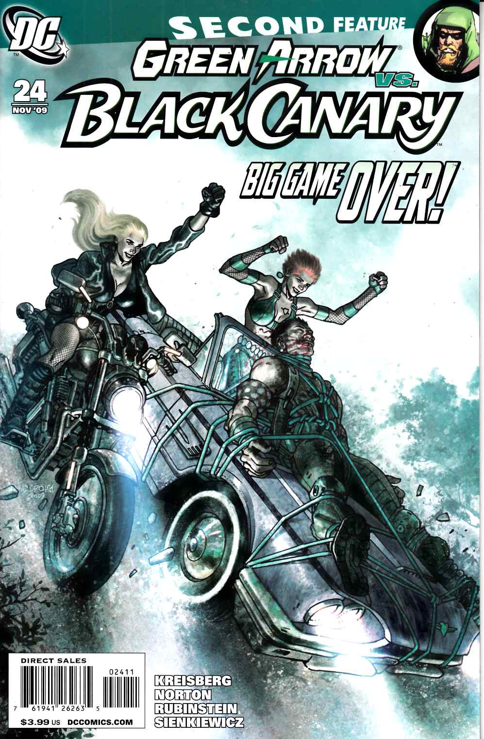 Green Arrow Black Canary #24 Very Fine (8.0) [DC Comic] THUMBNAIL