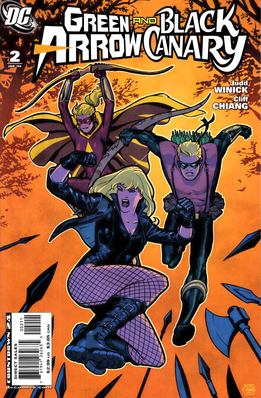 Green Arrow Black Canary #2 Very Fine (8.0) [DC Comic] THUMBNAIL