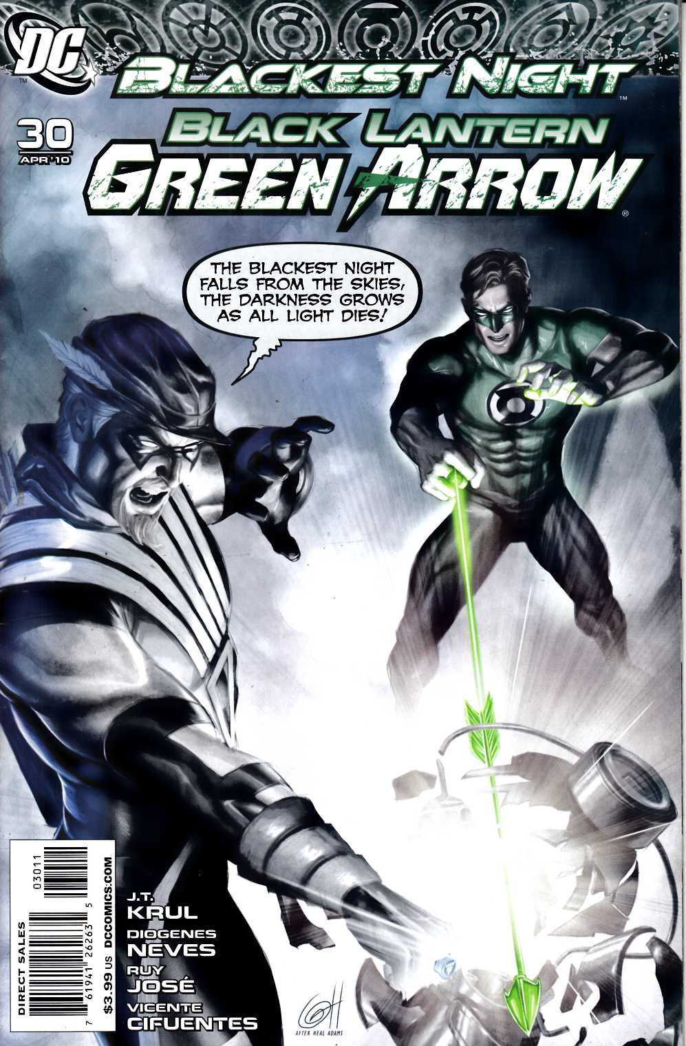 Green Arrow Black Canary #30 Very Fine (8.0) [DC Comic] THUMBNAIL