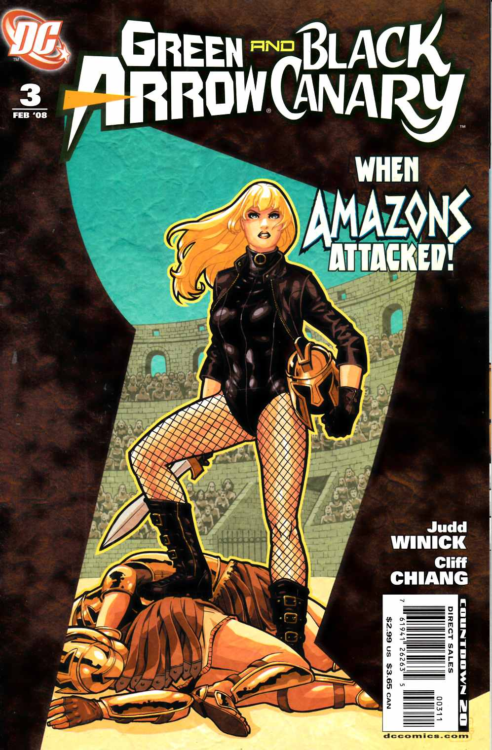 Green Arrow Black Canary #3 Very Fine (8.0) [DC Comic] THUMBNAIL