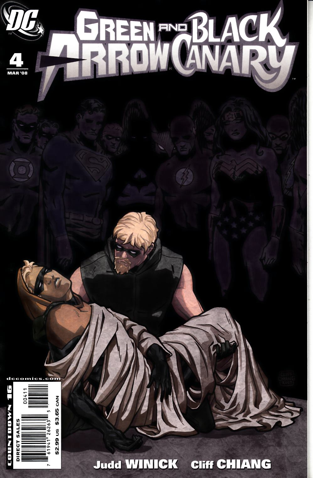 Green Arrow Black Canary #4 Very Fine Minus (7.5) [DC Comic] THUMBNAIL