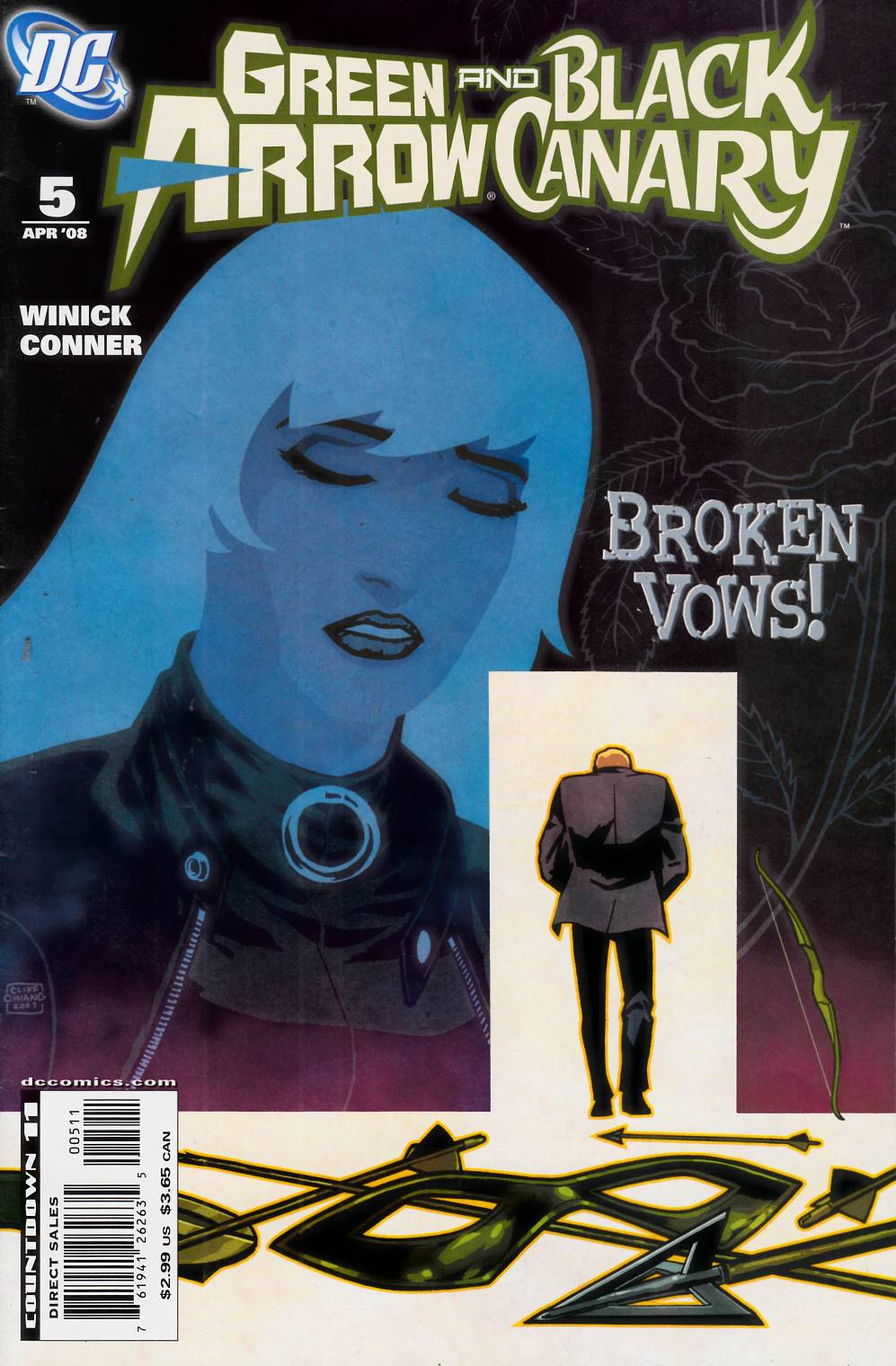 Green Arrow Black Canary #5 Very Fine Minus (7.5) [DC Comic] THUMBNAIL