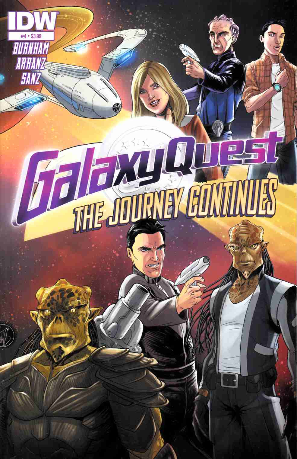 Galaxy Quest Journey Continues #3 [IDW Comic] LARGE