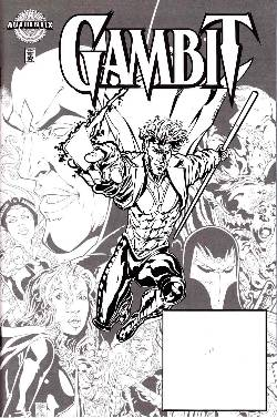 Gambit #1 Marvel Authentix Variant [Marvel Comic] LARGE