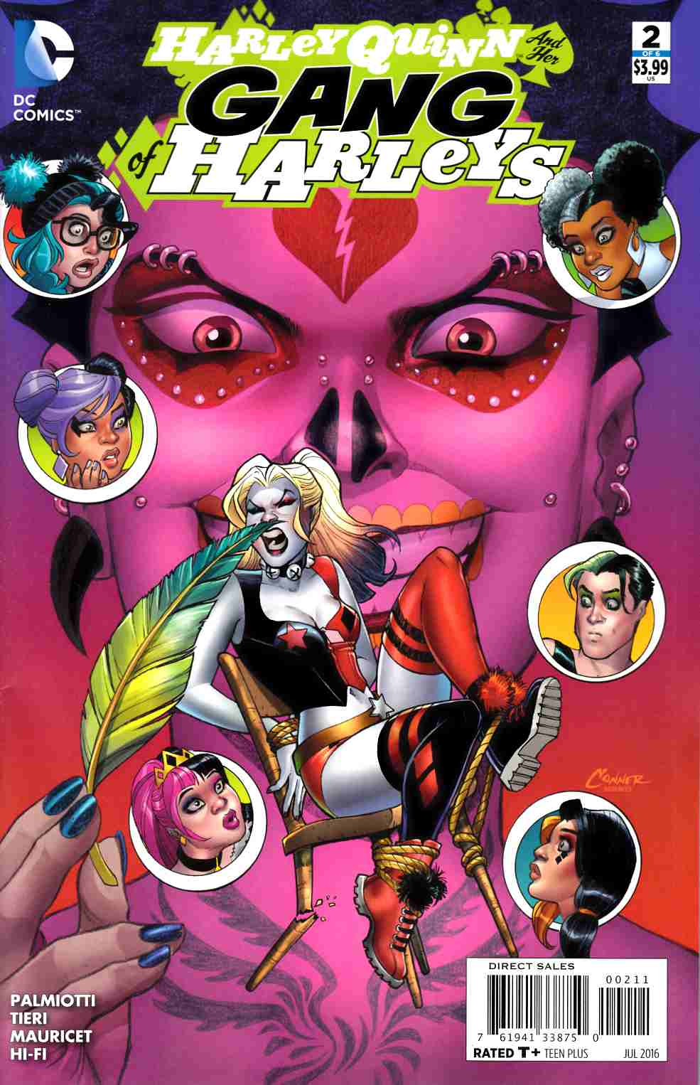 Harley Quinn and Her Gang of Harleys #2 [DC Comic] LARGE