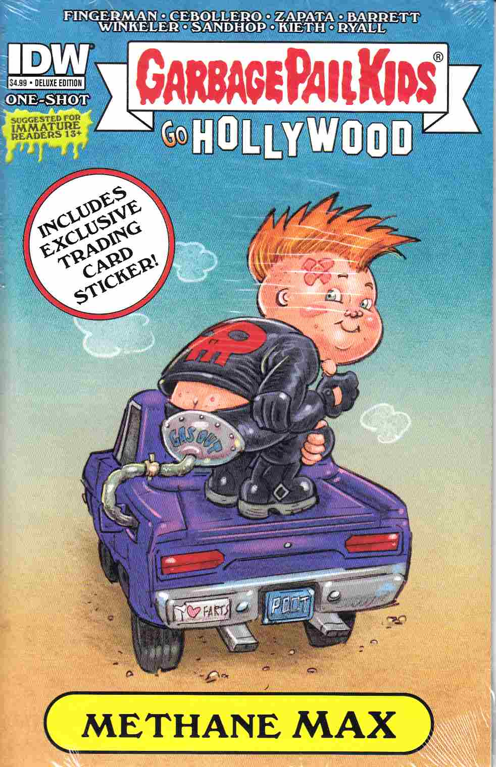 Garbage Pail Kids Go Hollywood Deluxe Edition (One Shot) [IDW Comic]