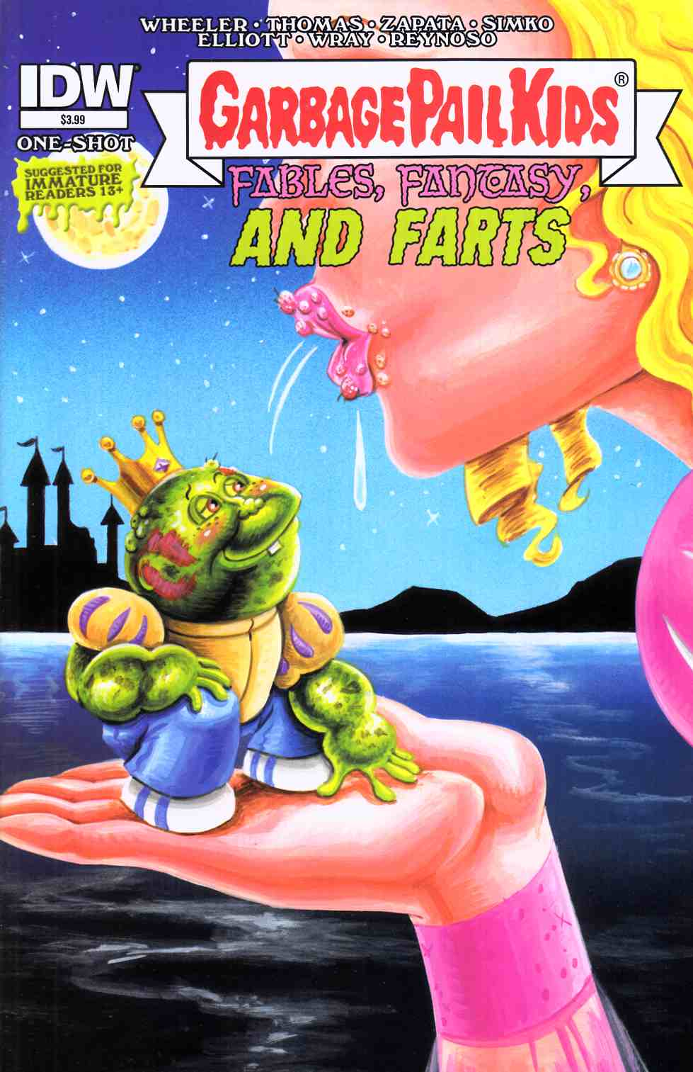 Garbage Pail Kids Fables Fantasy & Farts (One Shot) [IDW Comic]