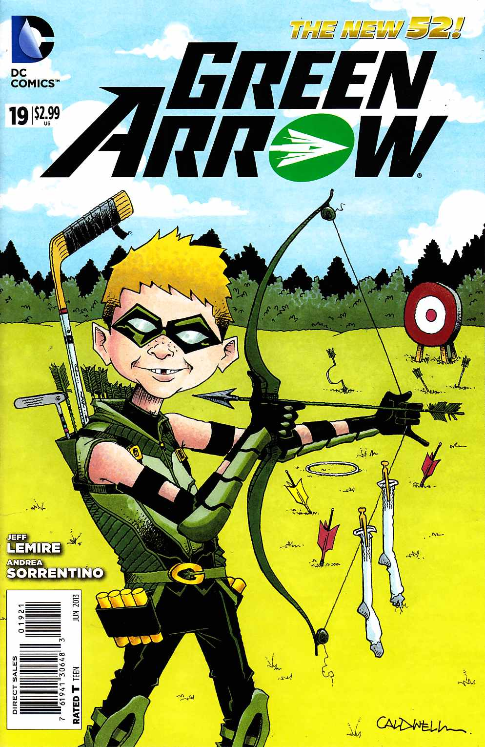 Green Arrow #19 Mad Variant Cover [DC Comic]