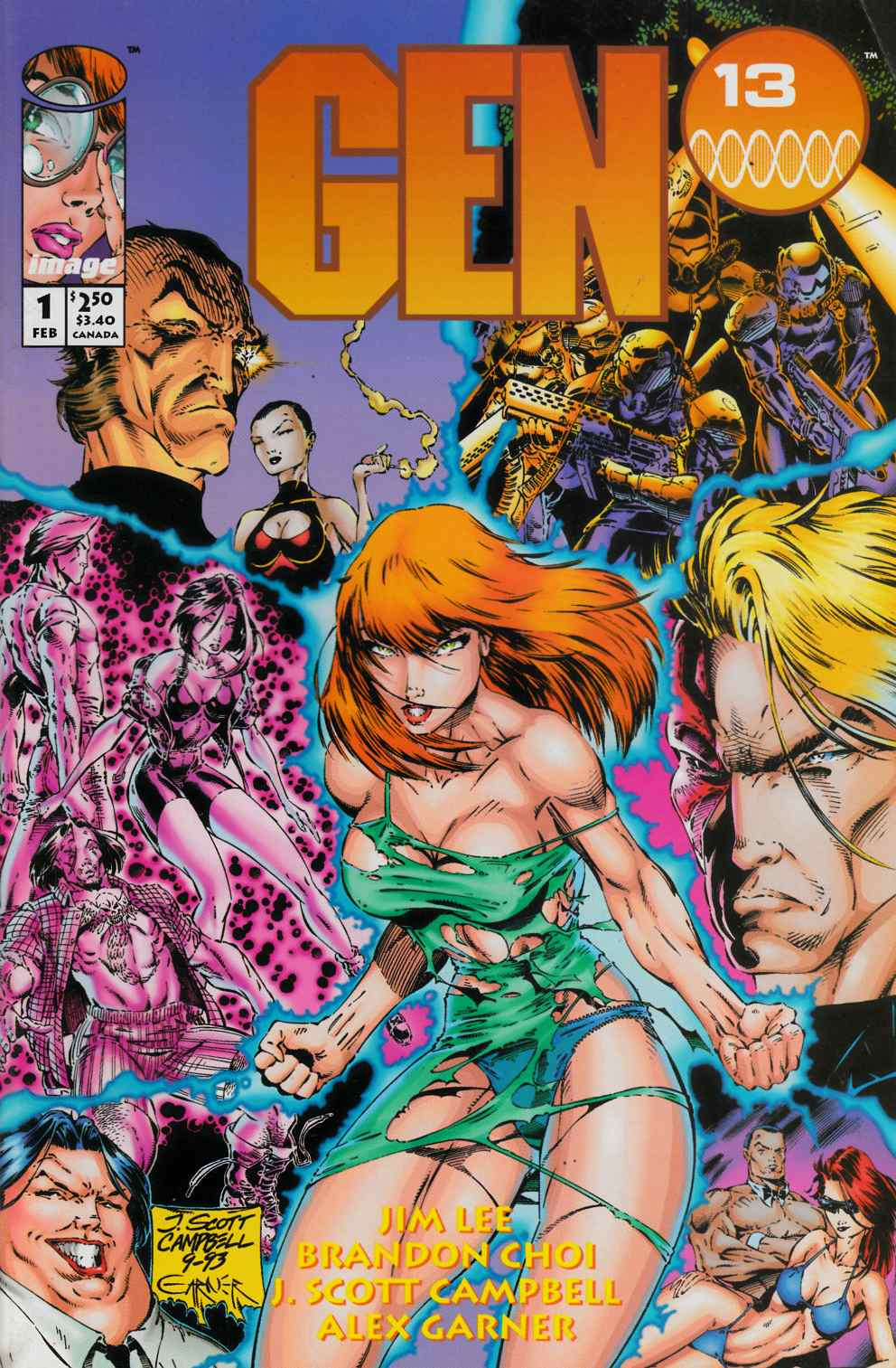 Gen 13 #1 Very Fine (8.0) [Image Comic] THUMBNAIL