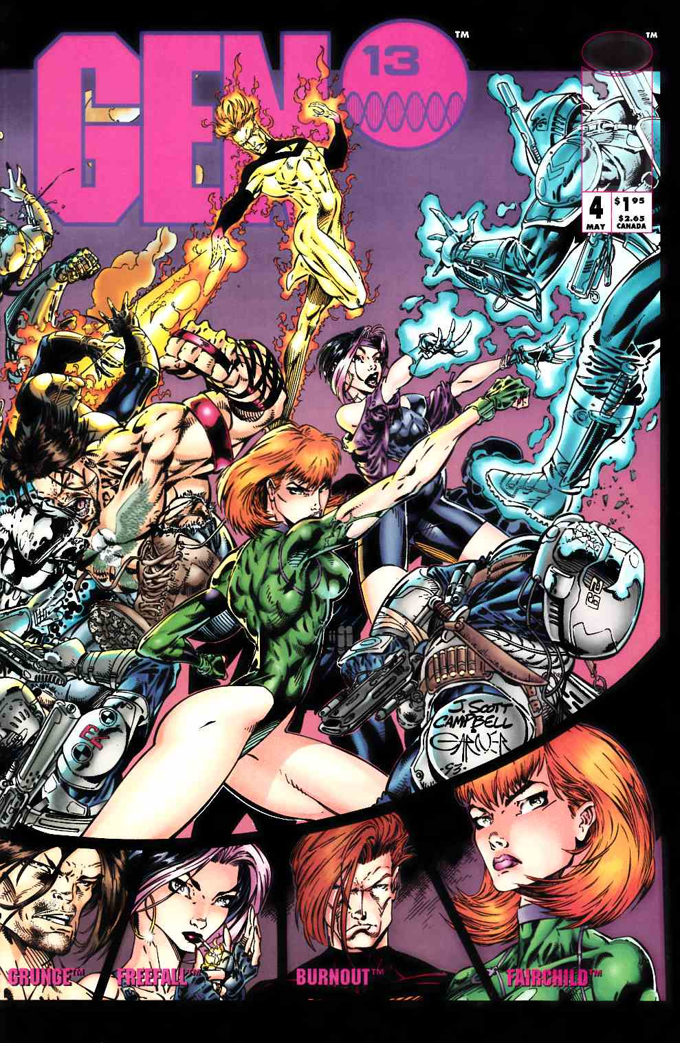 Gen 13 #4 Very Fine (8.0) [Image Comic] THUMBNAIL