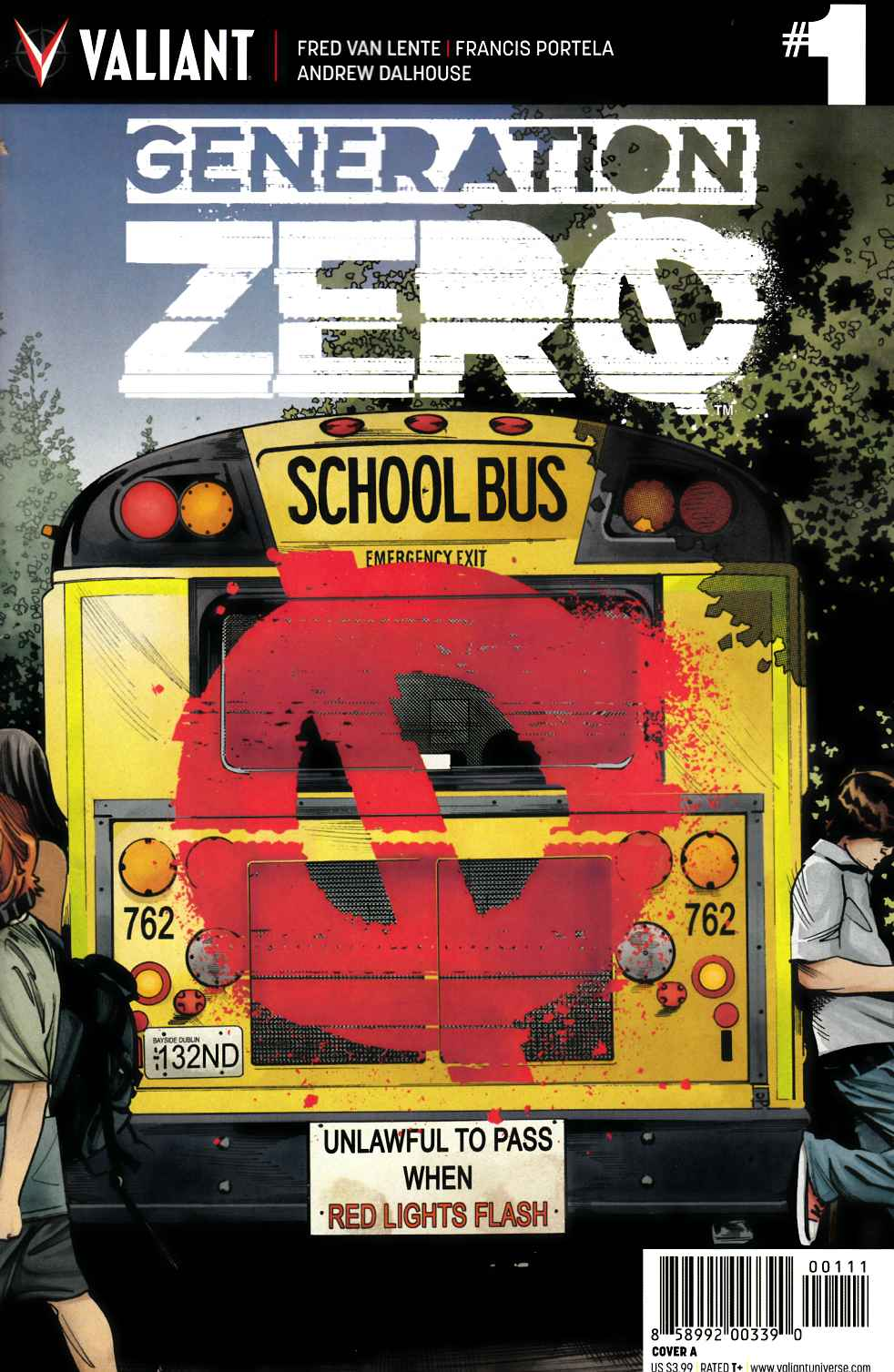 Generation Zero #1 Cover A [Valiant Comic] THUMBNAIL