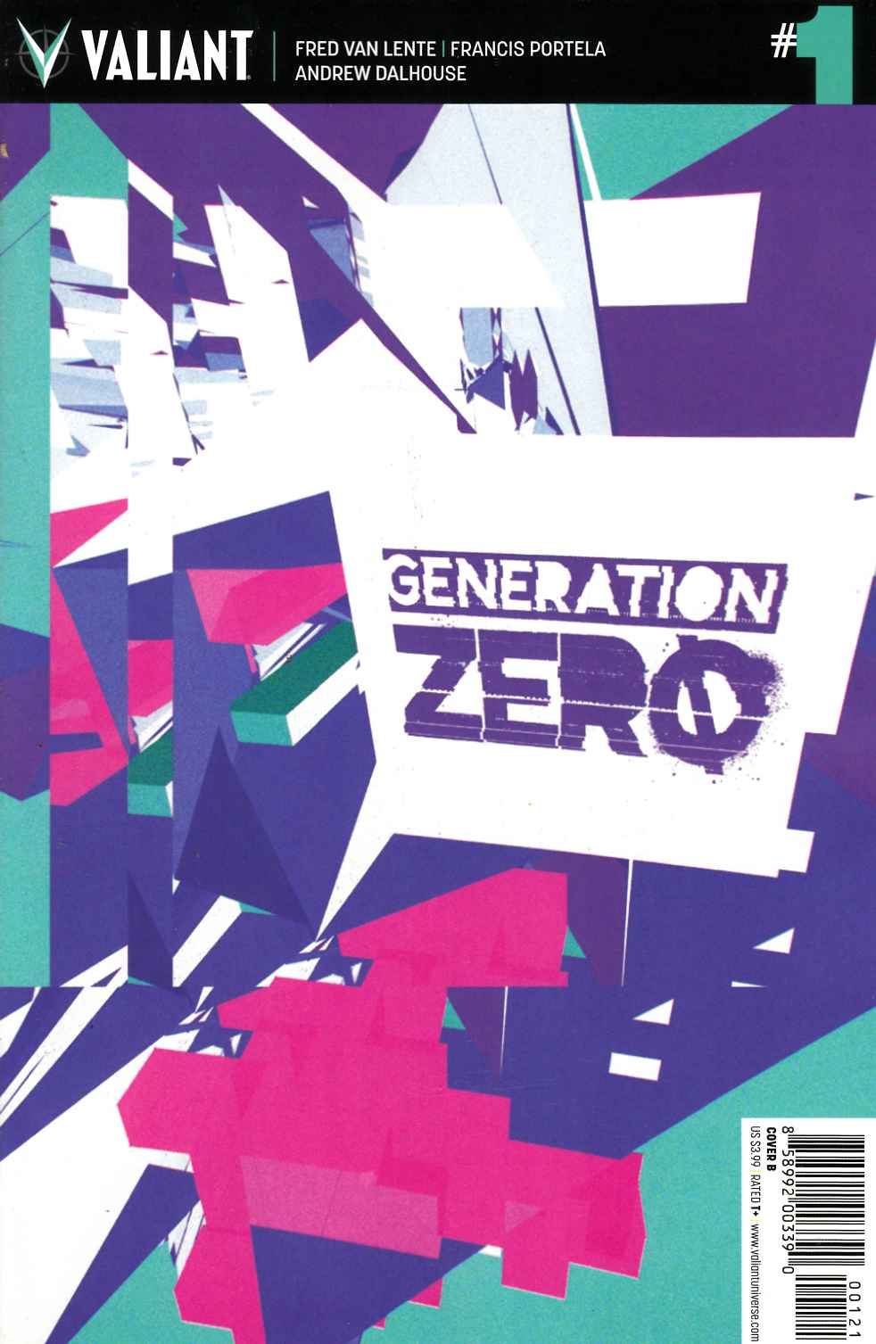 Generation Zero #1 Cover B [Valiant Comic]_THUMBNAIL