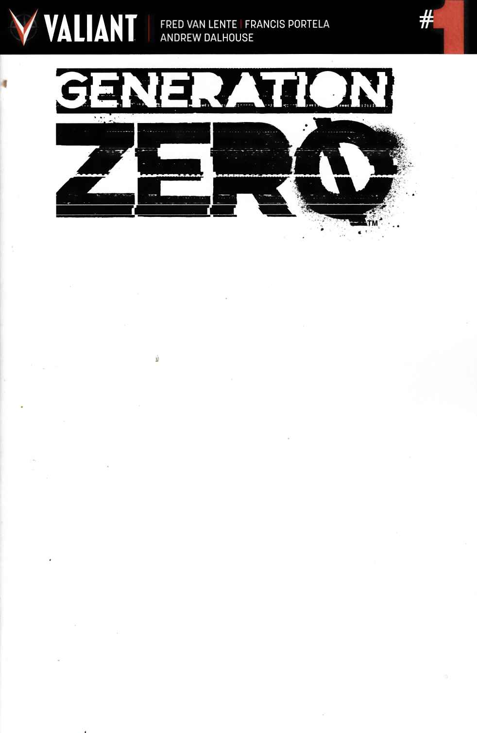 Generation Zero #1 Cover D [Valiant Comic] THUMBNAIL