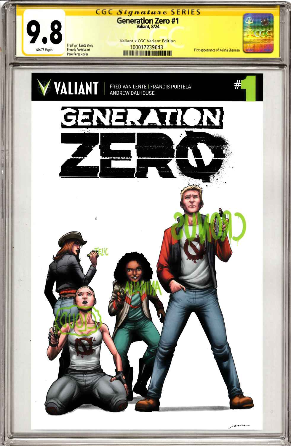Generation Zero #1 Cover C [Valiant Comic] THUMBNAIL