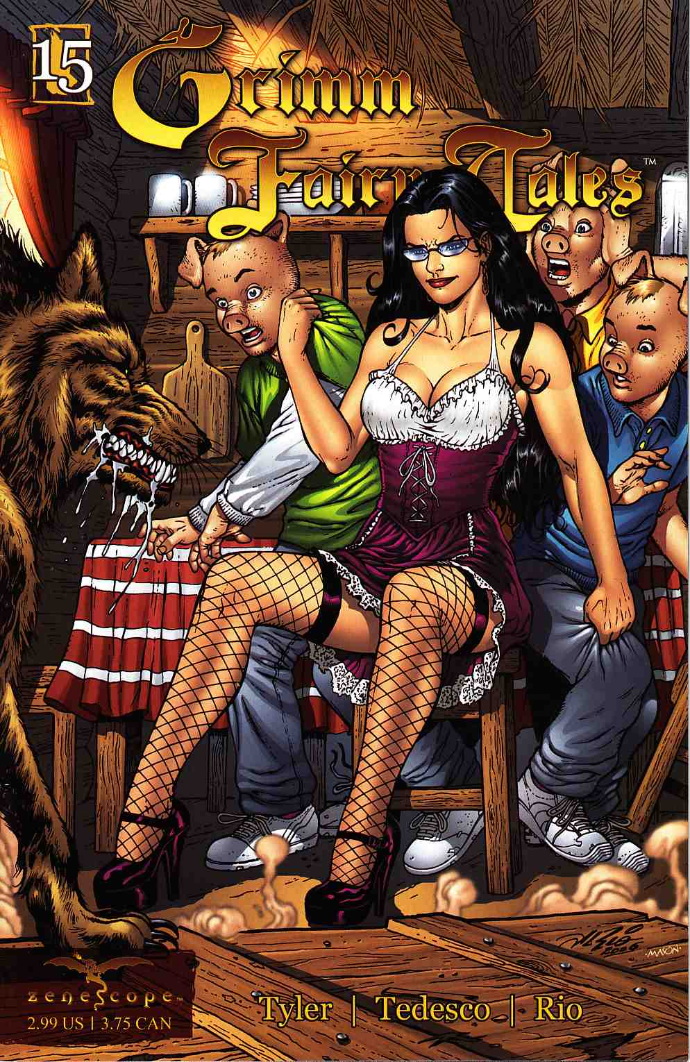 Grimm Fairy Tales #15 [Zenescope Comic] THUMBNAIL