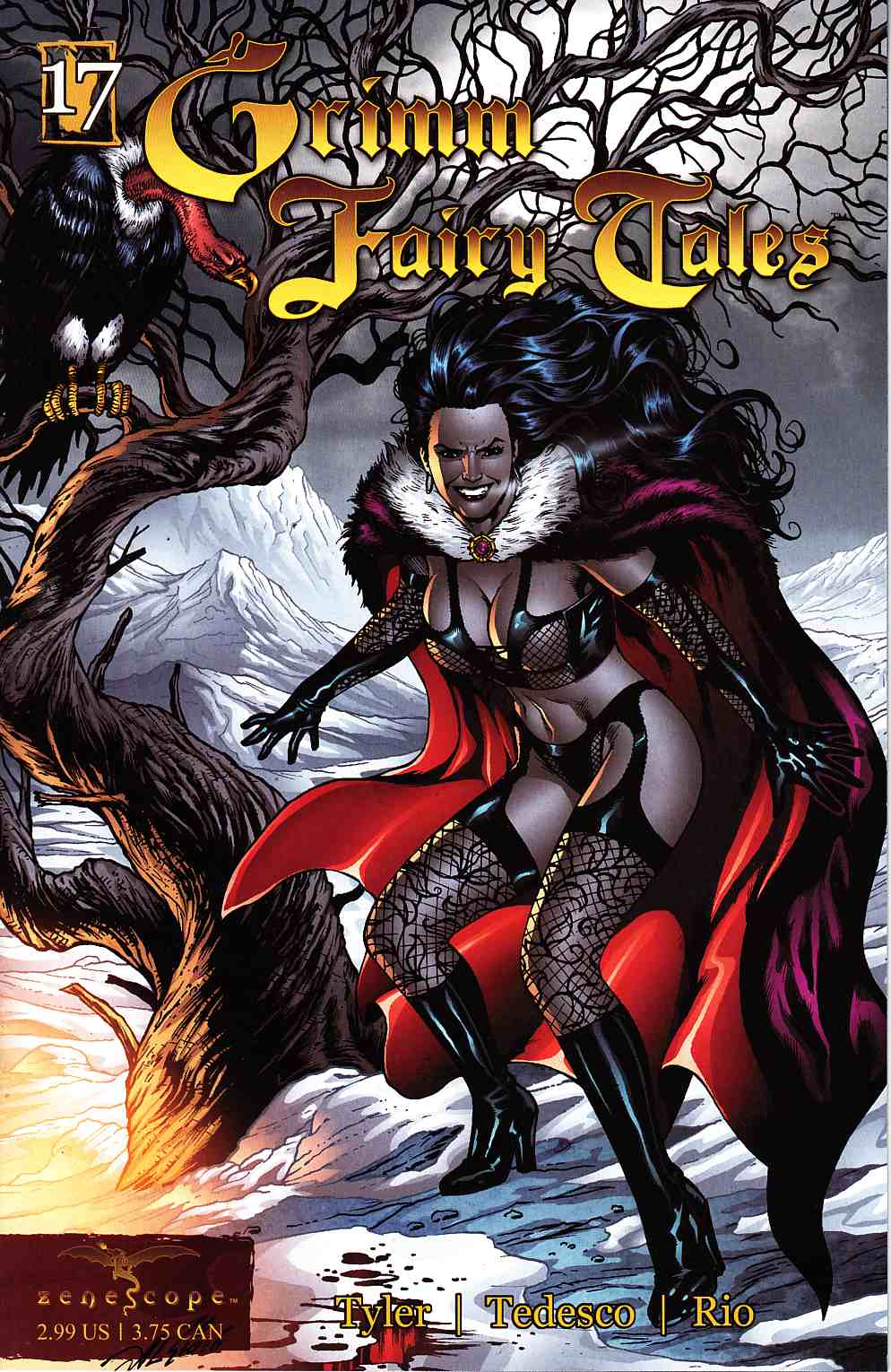 Grimm Fairy Tales #17 [Zenescope Comic] THUMBNAIL