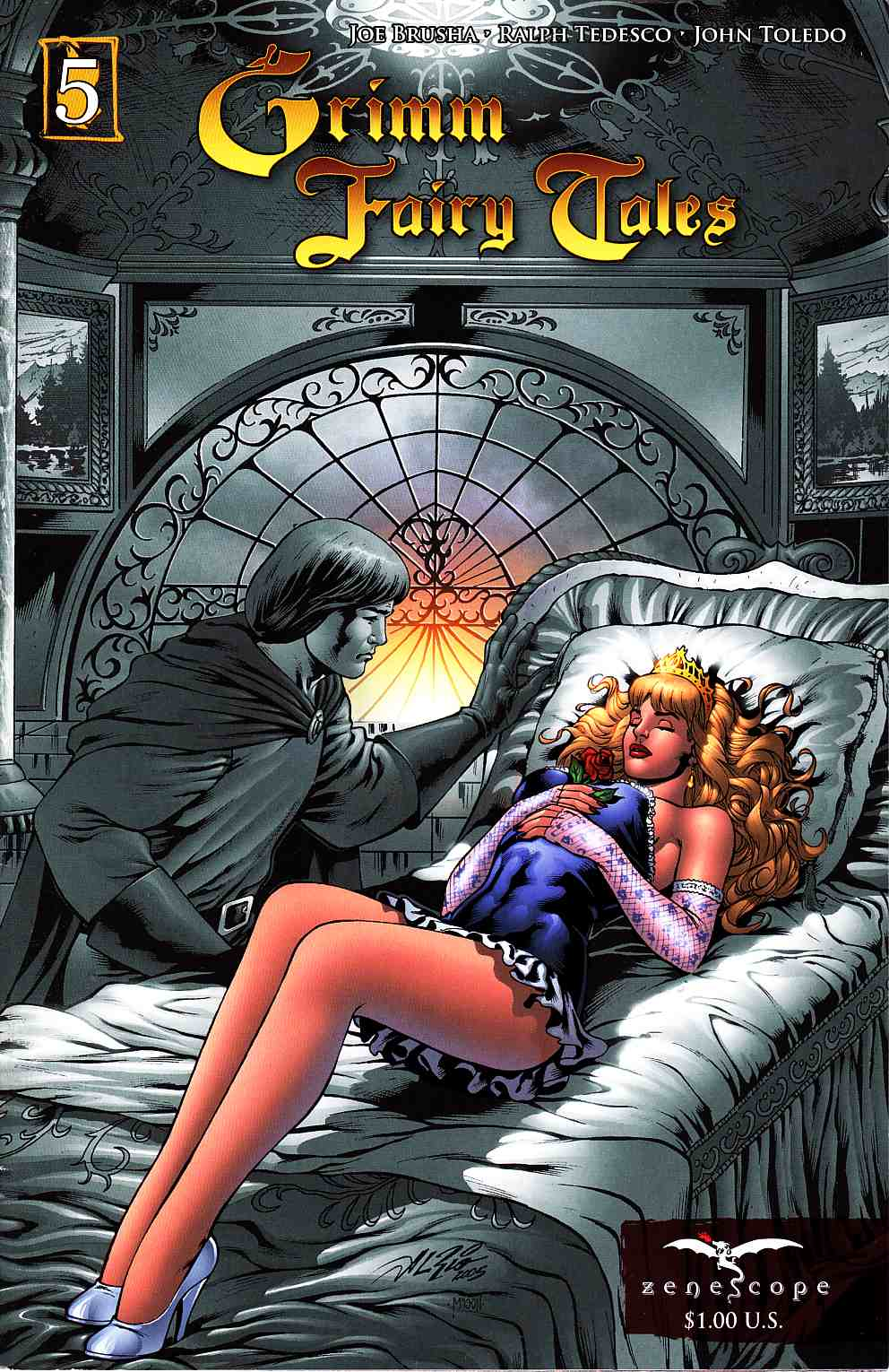 Grimm Fairy Tales #5 Second Printing [Zenescope Comic] THUMBNAIL