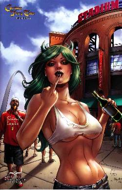 Grimm Fairy Tales Annual 2012 Cover D- St Louis Project Variant [Comic]
