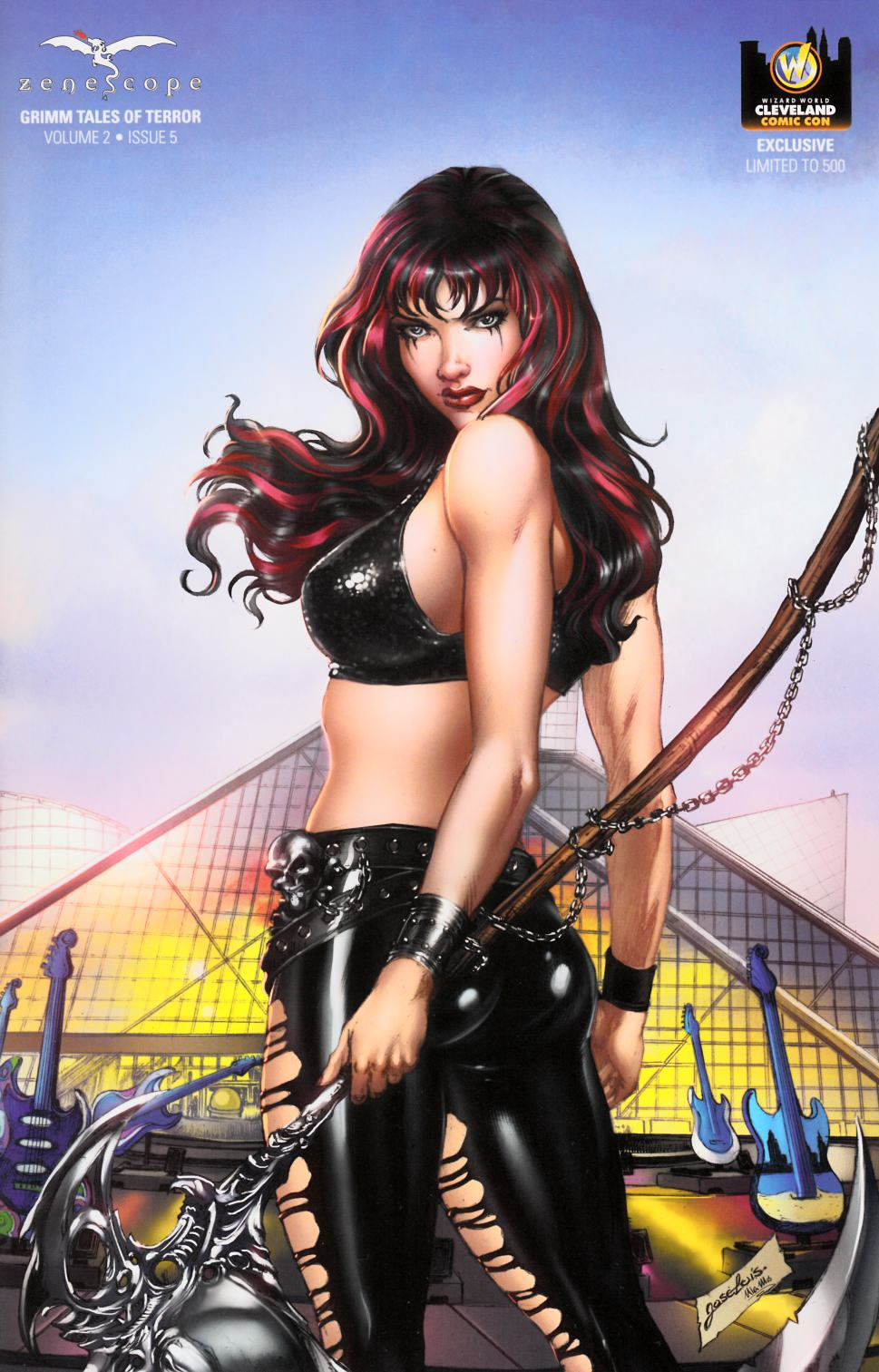 GFT Grimm Tales of Terror Vol 2 #5 Cover E- WW Cleveland Exclusive [Zenescope Comic] THUMBNAIL