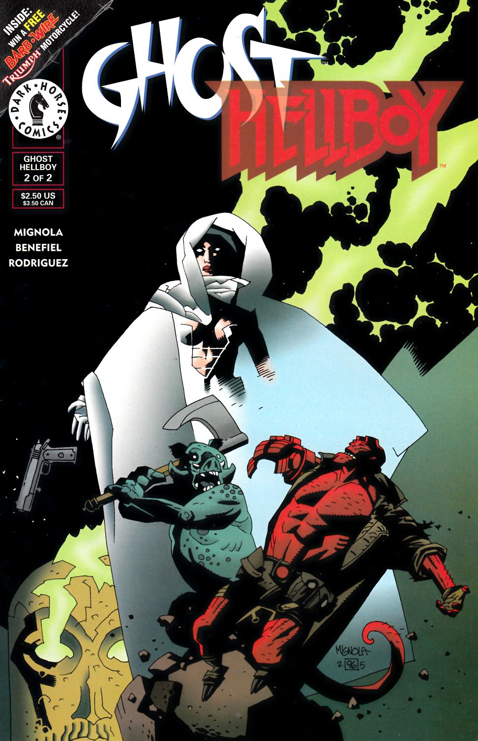 Ghost Hellboy Special #2 [Dark Horse Comic] THUMBNAIL