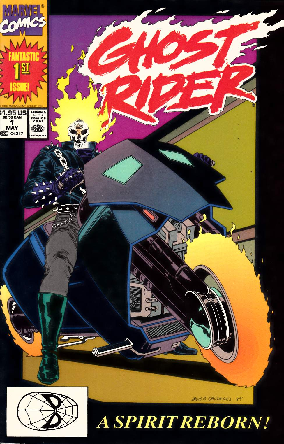 Ghost Rider #1 Near Mint Minus (9.2) [Marvel Comic] THUMBNAIL