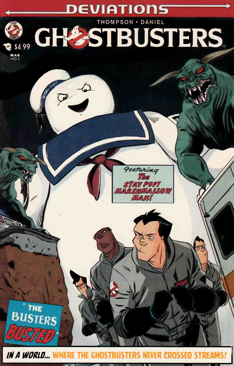 Ghostbusters Deviations (One Shot) Subscription Cover [IDW Comic] THUMBNAIL