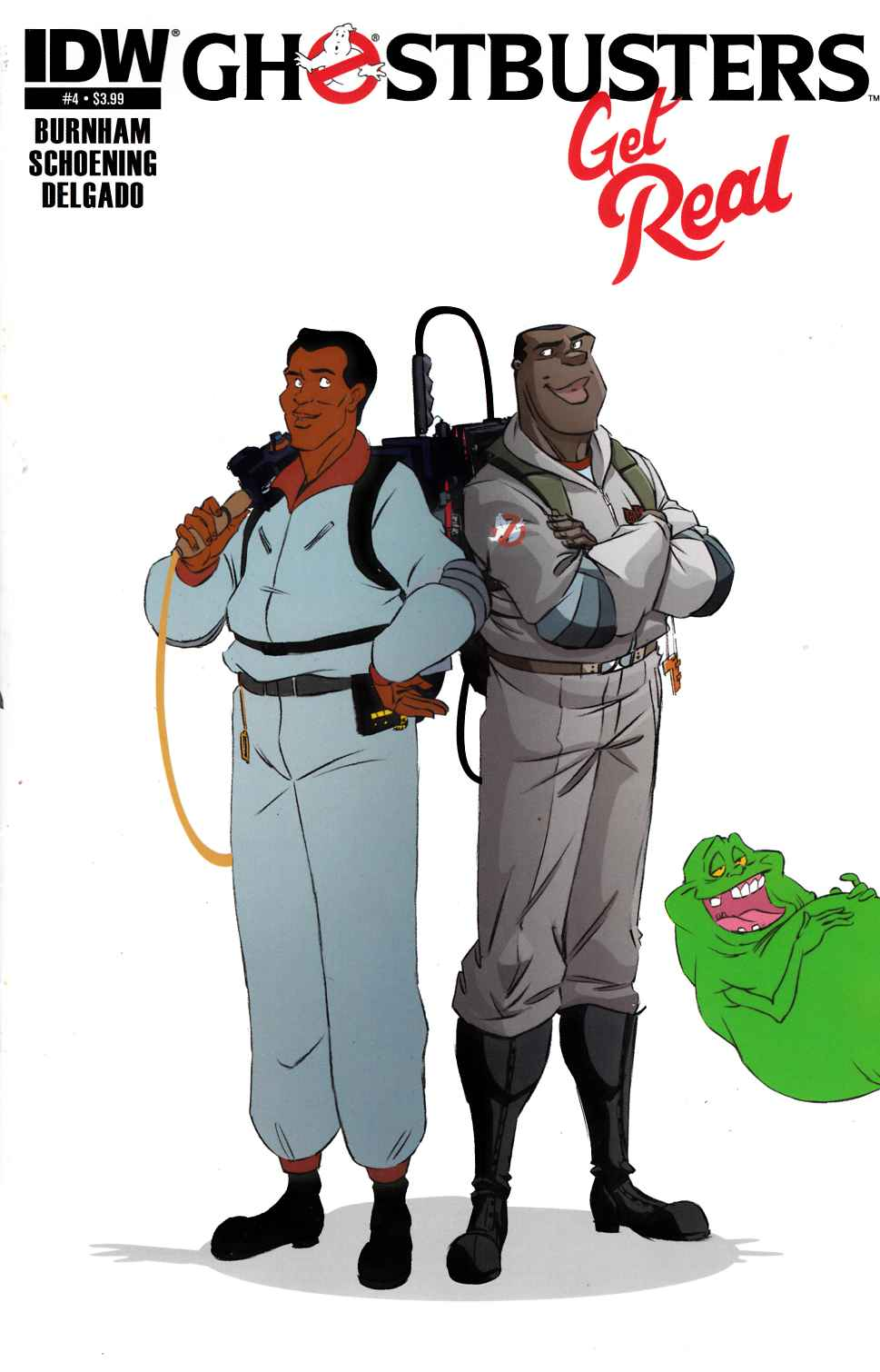 Ghostbusters Get Real #4 Subscription Cover [IDW Comic] THUMBNAIL