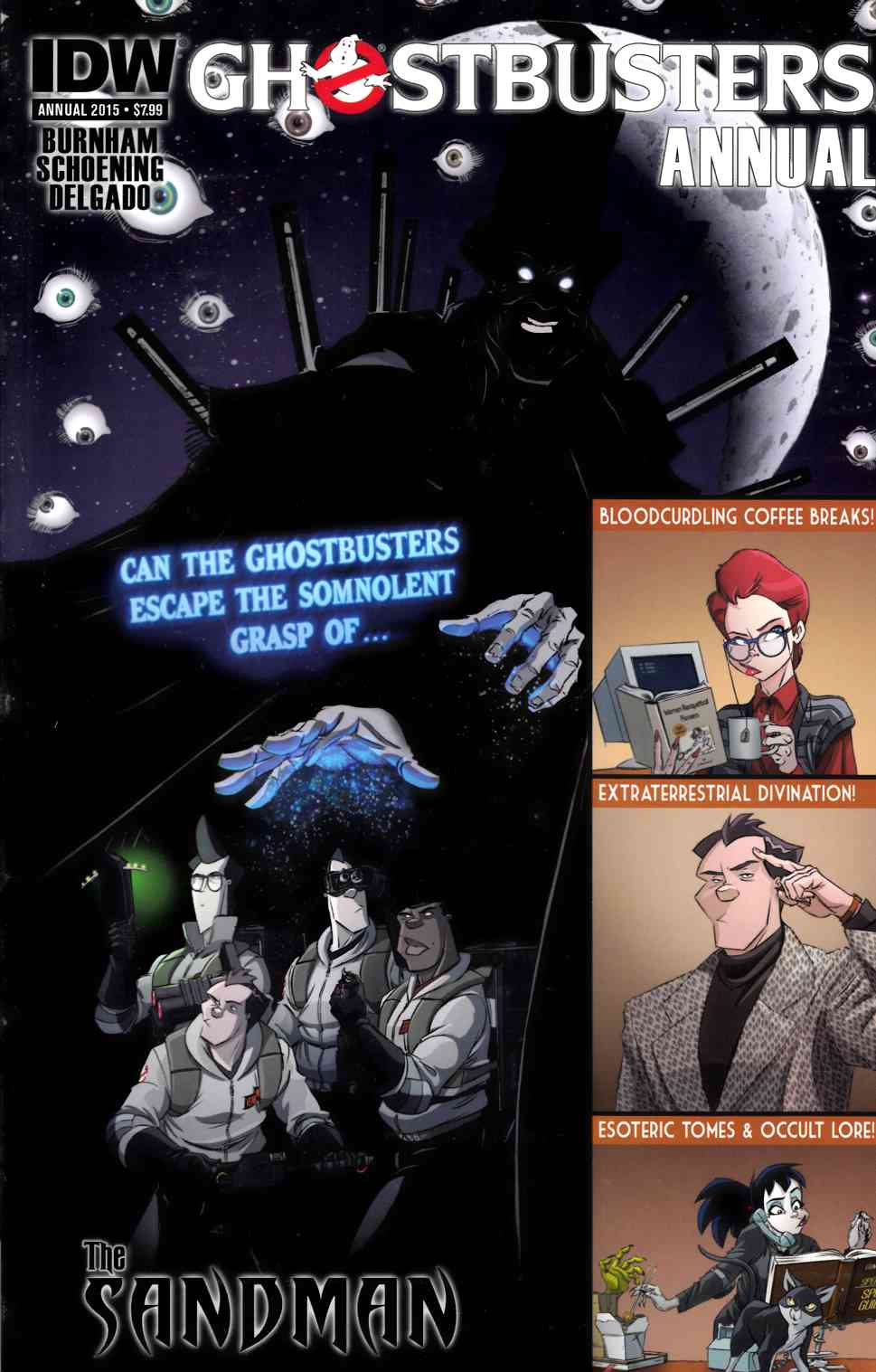 Ghostbusters Annual 2015 [IDW Comic] THUMBNAIL