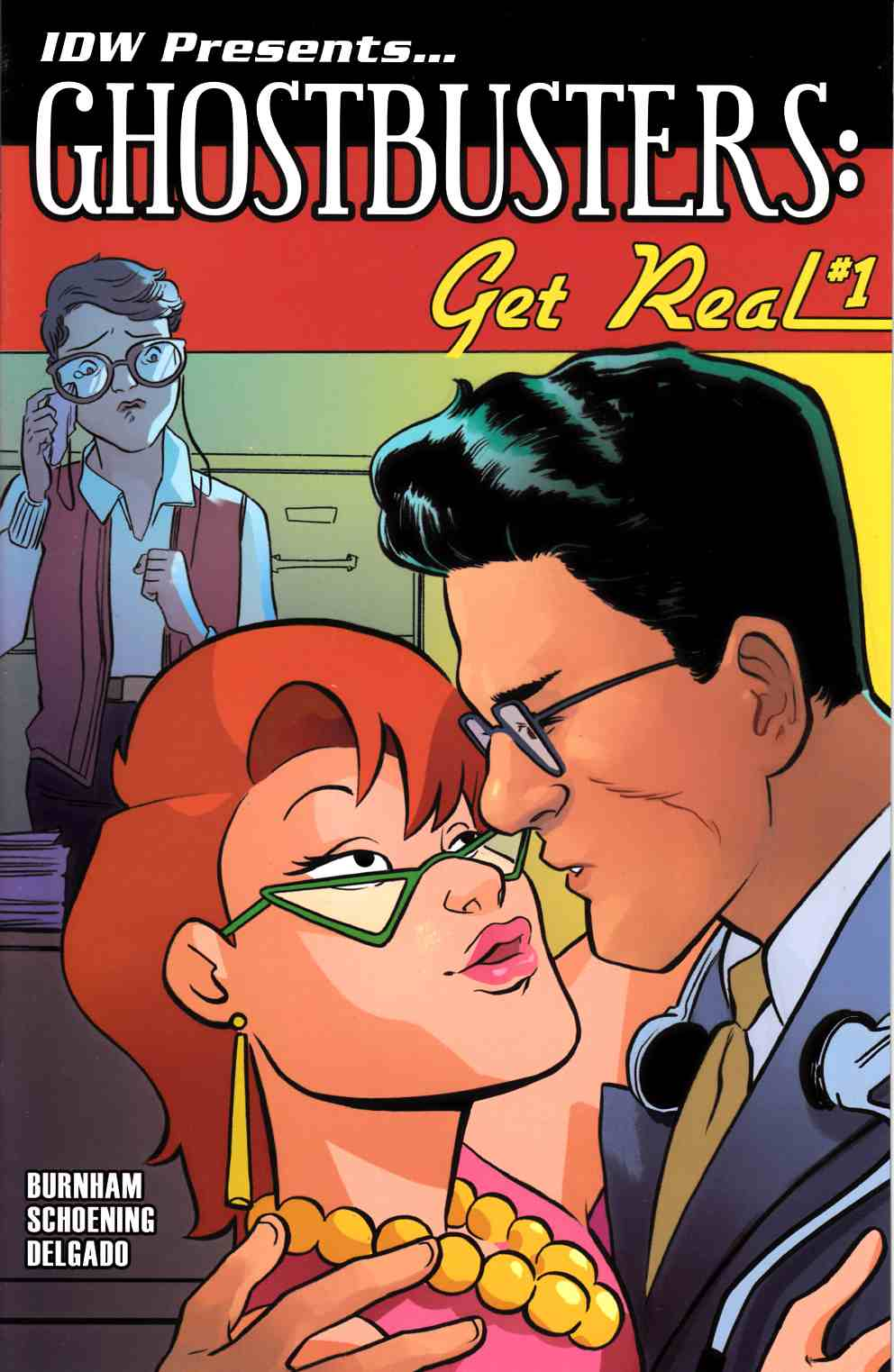 Ghostbusters Get Real #1 Subscription Cover [IDW Comic]
