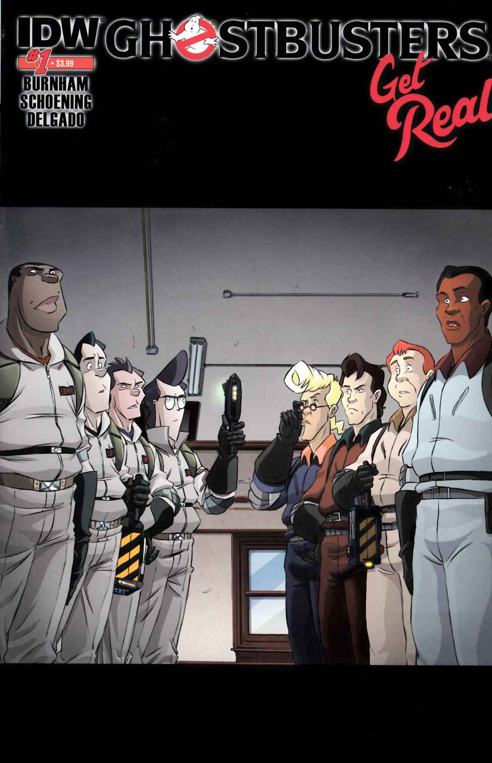 Ghostbusters Get Real #1 Second Printing [IDW Comic] THUMBNAIL