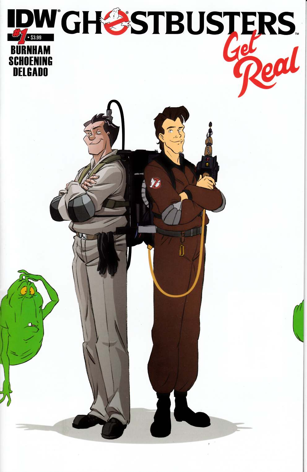Ghostbusters Get Real #1 [IDW Comic]