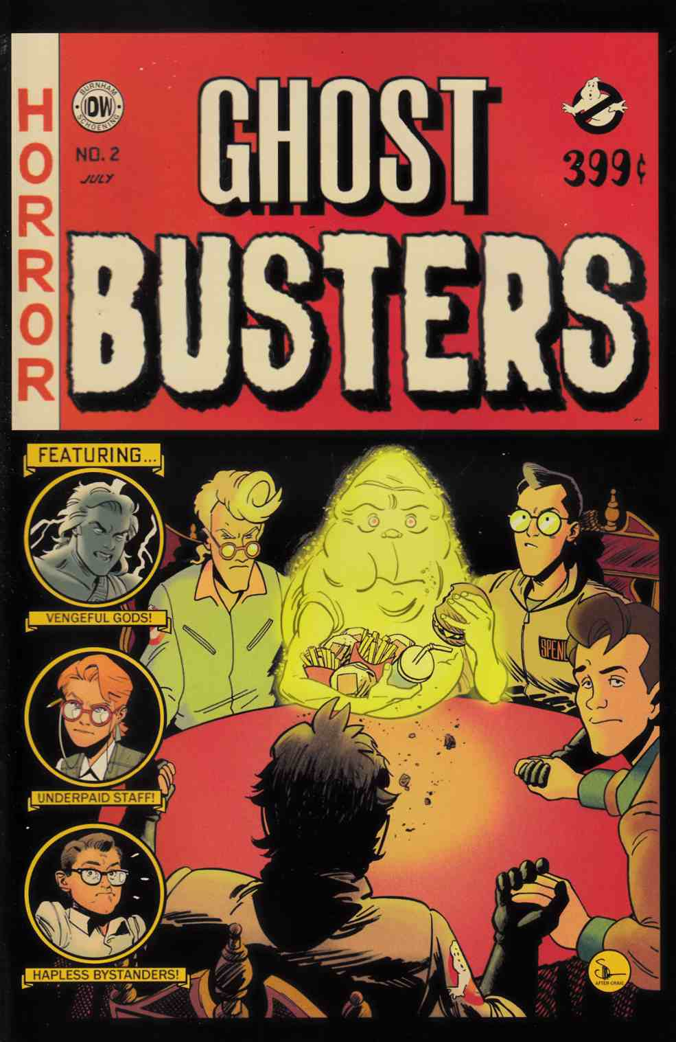 Ghostbusters Get Real #2 EC Subscription Cover [IDW Comic]