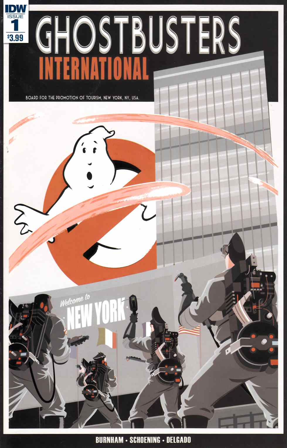 Ghostbusters International #1 [IDW Comic] THUMBNAIL