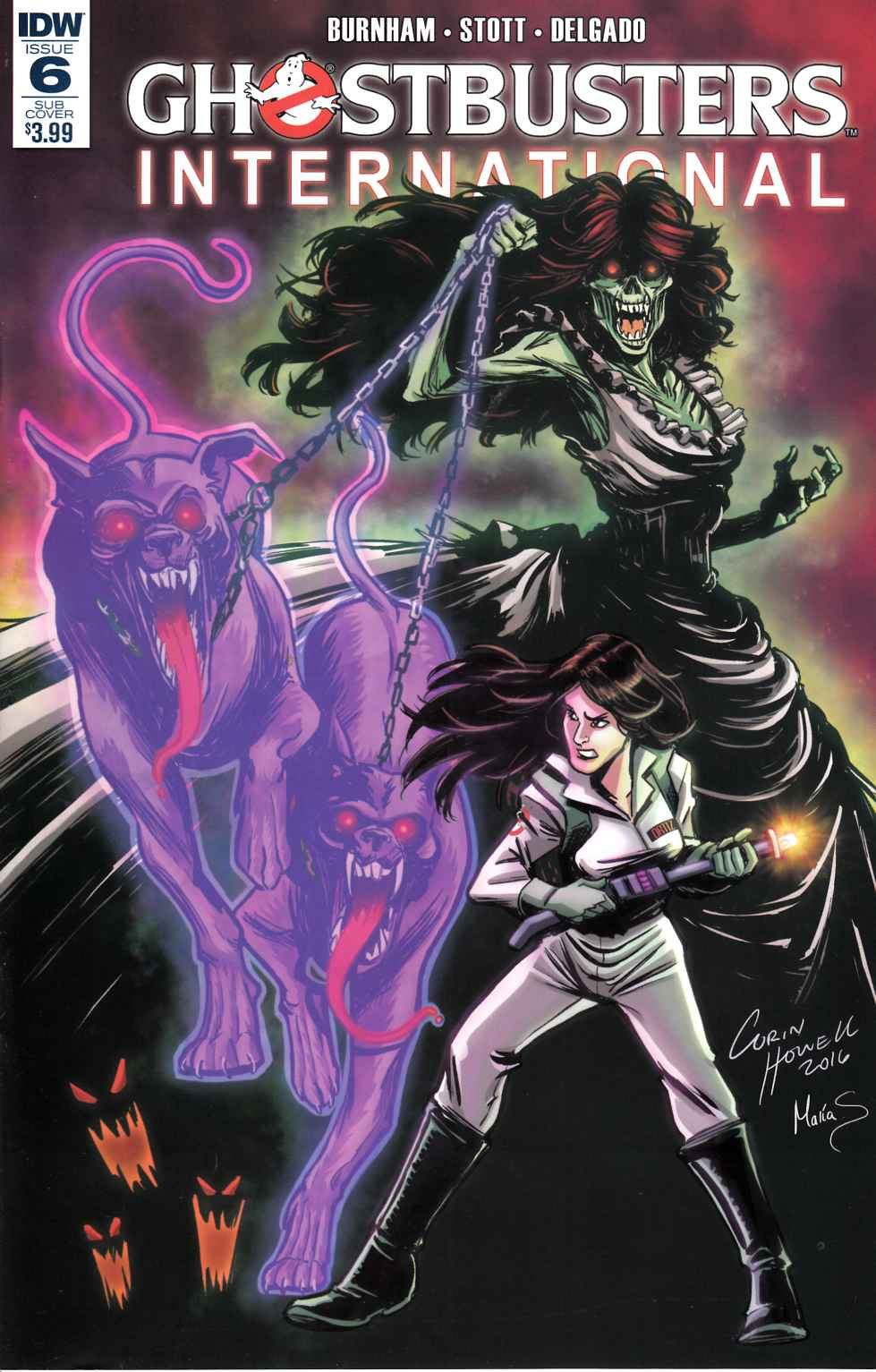 Ghostbusters International #6 Subscription Cover [IDW Comic] THUMBNAIL