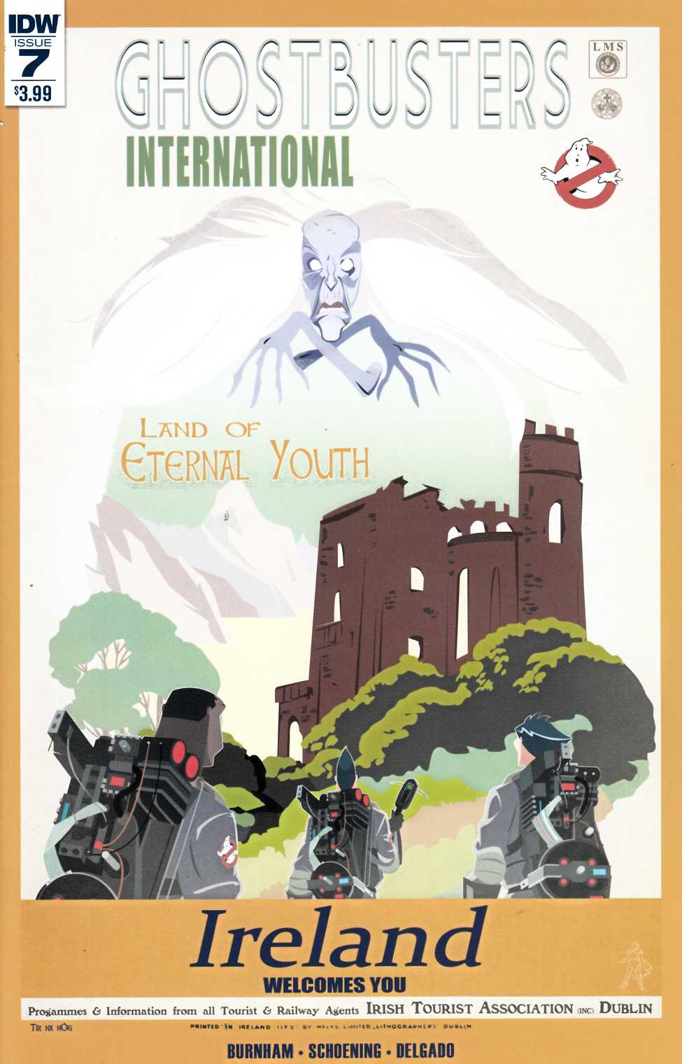 Ghostbusters International #7 [IDW Comic] THUMBNAIL