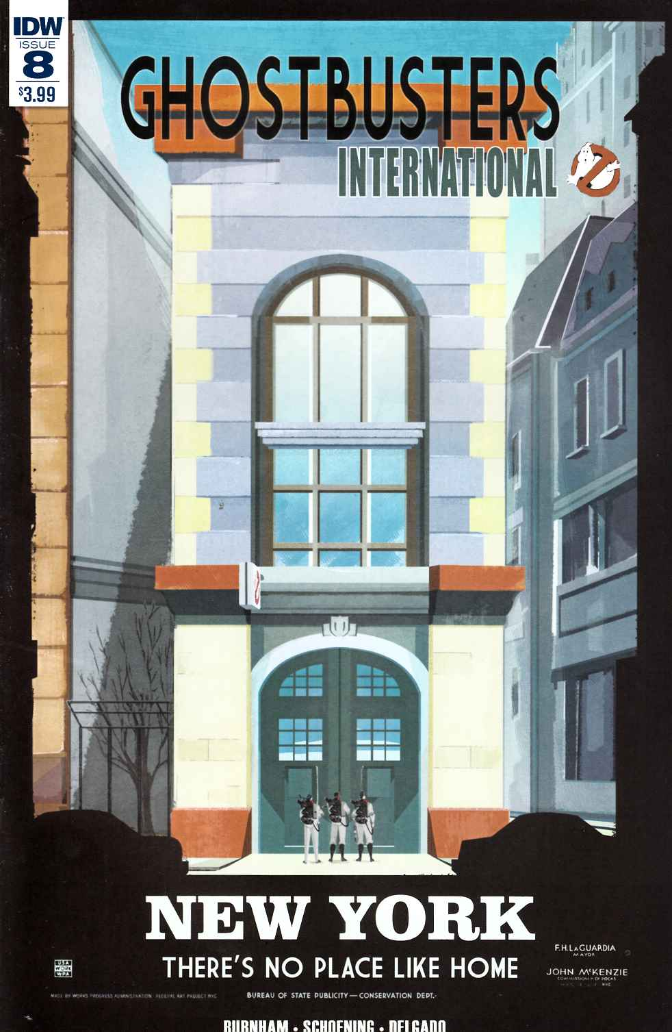 Ghostbusters International #8 [IDW Comic] THUMBNAIL