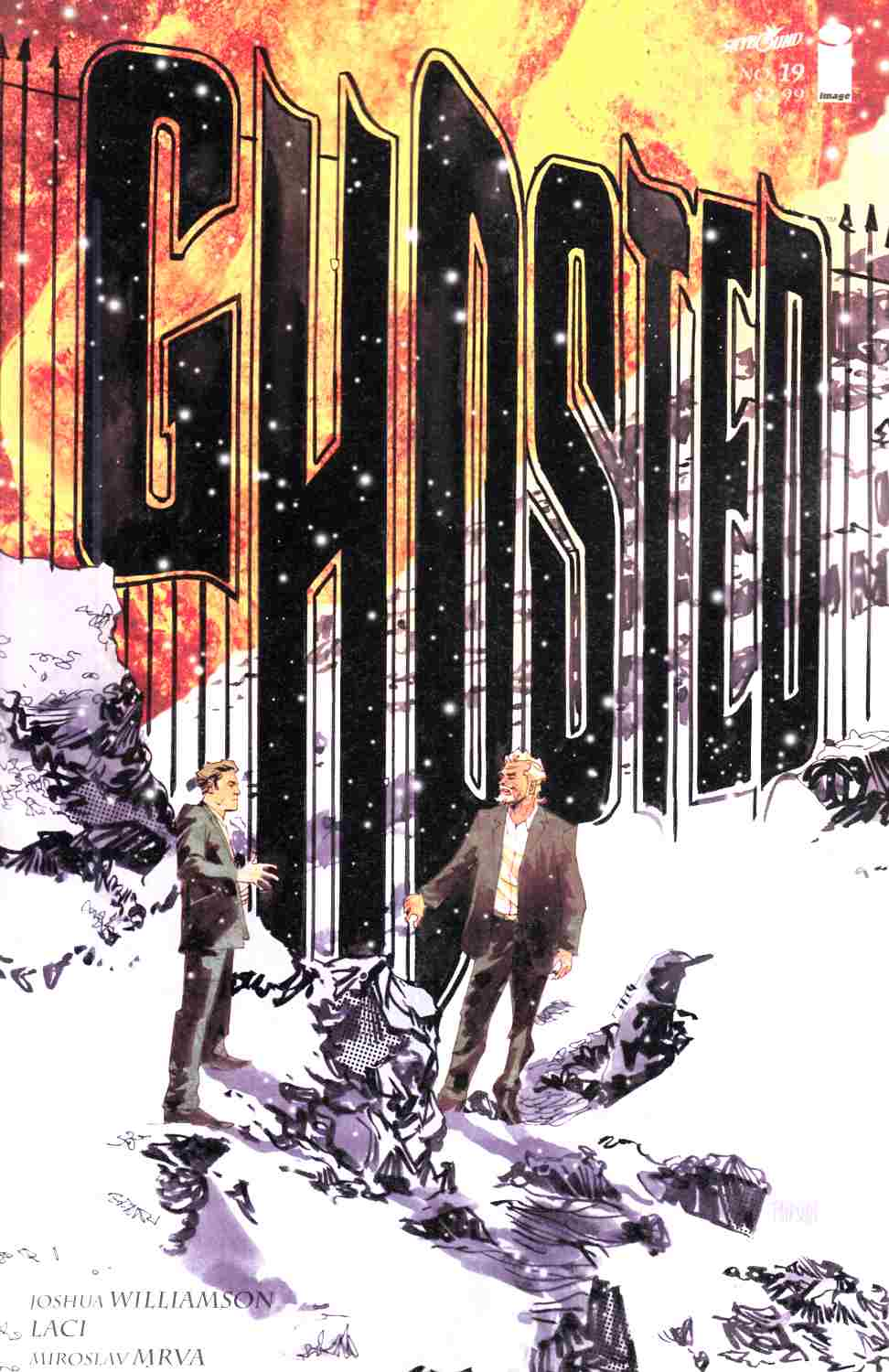 Ghosted #19 [Image Comic] THUMBNAIL