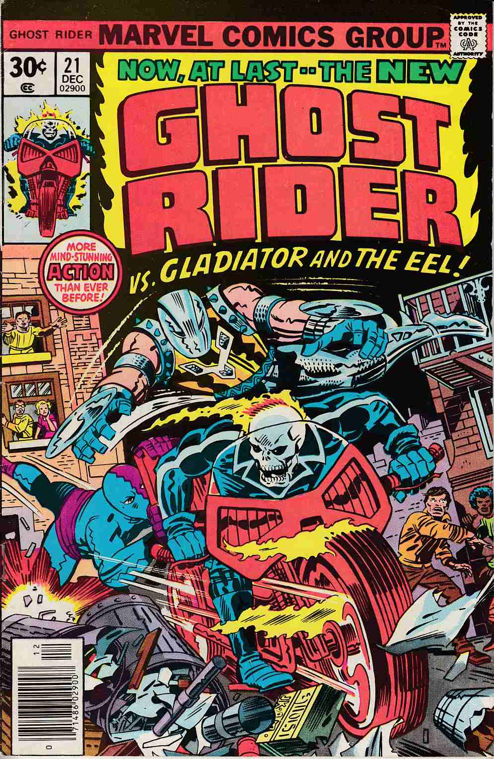 Ghost Rider #21 Fine (6.0) [Marvel Comic] THUMBNAIL