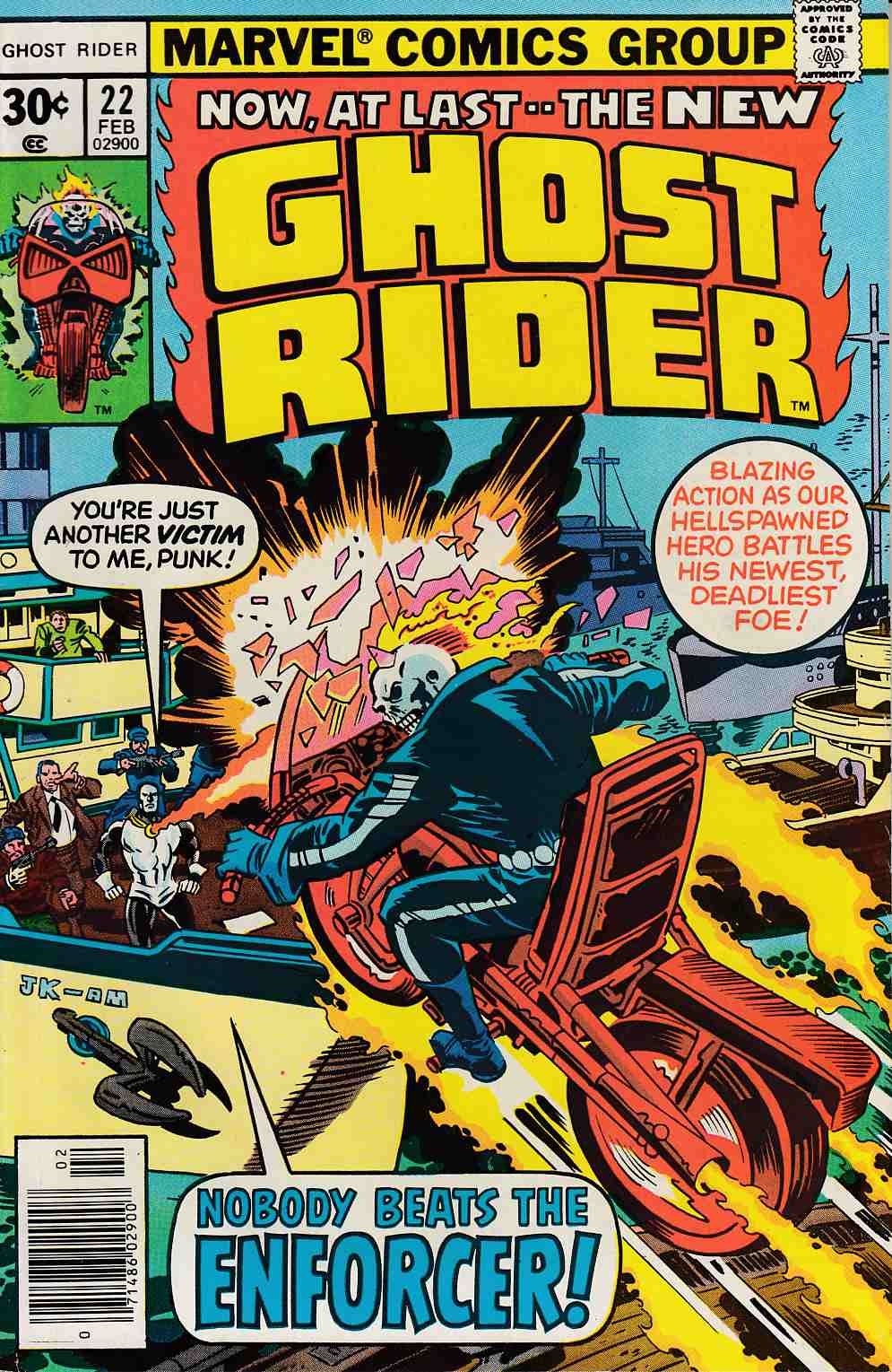 Ghost Rider #22 Very Fine (8.0) [Marvel Comic] THUMBNAIL