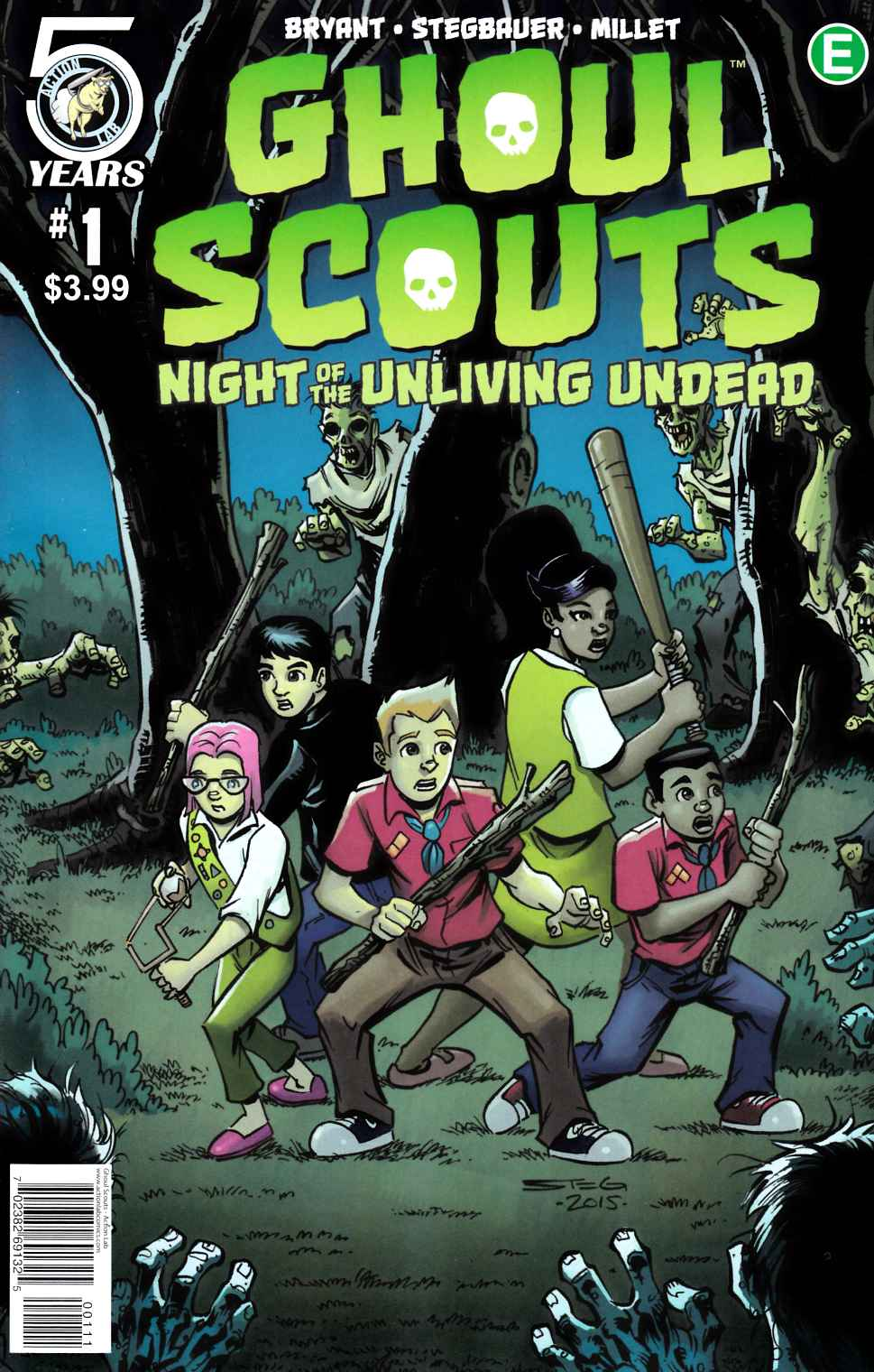 Ghoul Scouts Night of the Unliving Undead #1 Cover A [Action Lab Comic] THUMBNAIL